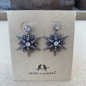 Chloe+Isabel Starburst Convertible Jacket Earrings